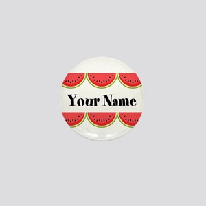 Watermelons Personalized Mini Button